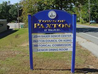 John Bauer Senior Center Sign