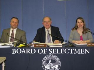 Board of Selectmen Group Photo